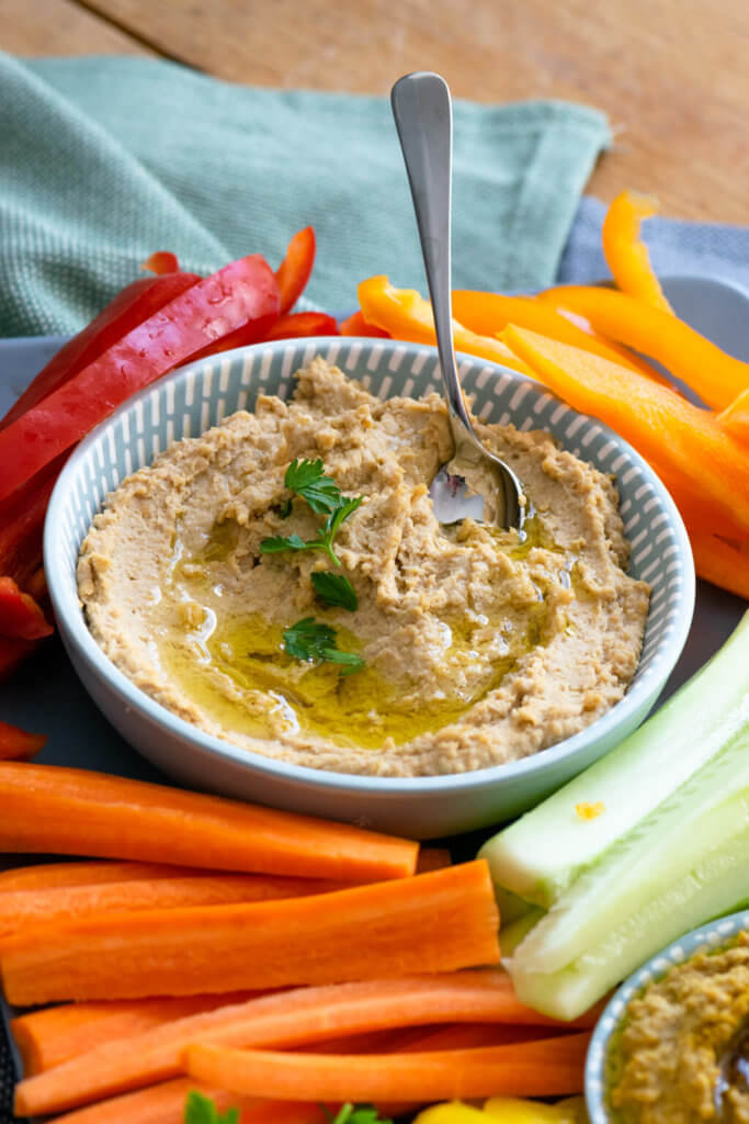 Selbstgemachter Hummus im Thermomix®