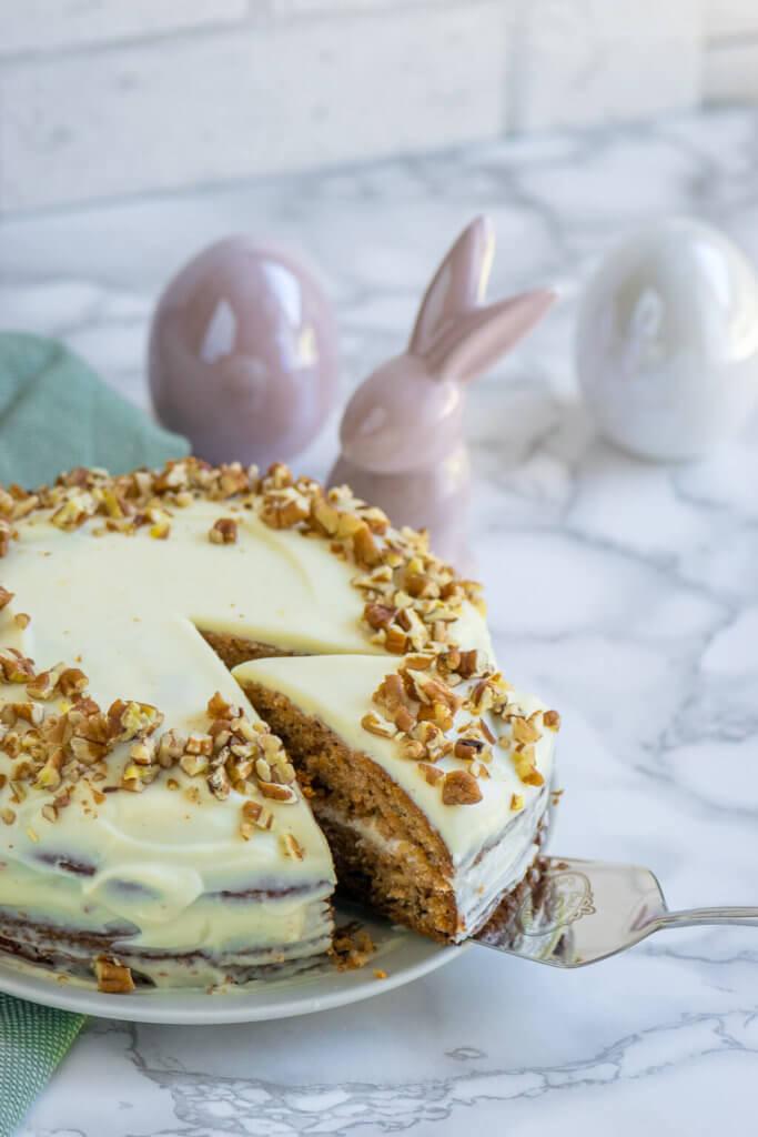Carrot Cake passt nicht nur an Ostern