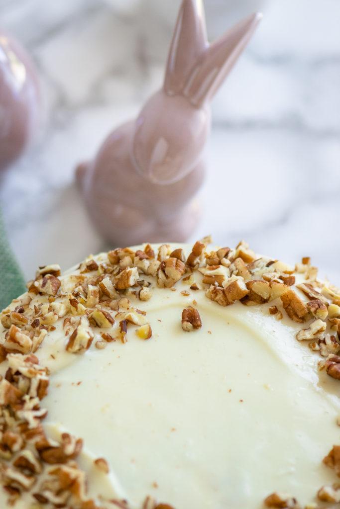 Saftiger Carrotcake - schmeckt nicht nur zu Ostern