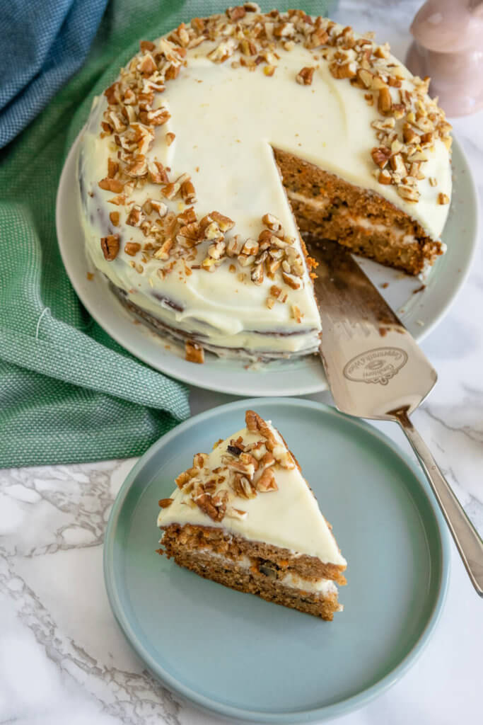 Super leckerer Carrot Cake