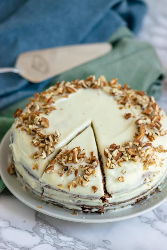 Lecker und super easy selber machen - Carrot Cake wie von Starbucks