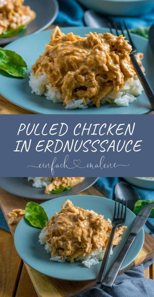 Nur 10 Minuten Vorbereitung und Abends leckeres Erdnusshuhn genießen Selten habe ich Satay Chicken so saftig gegessen. So kann wirklich jeder kochen - das Erdnuss Huhn ist das einfachste Gericht mit ganz viel Geschmack!