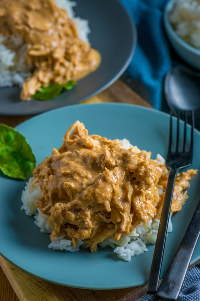 Satay Pulled Chicken Slowcooker-19