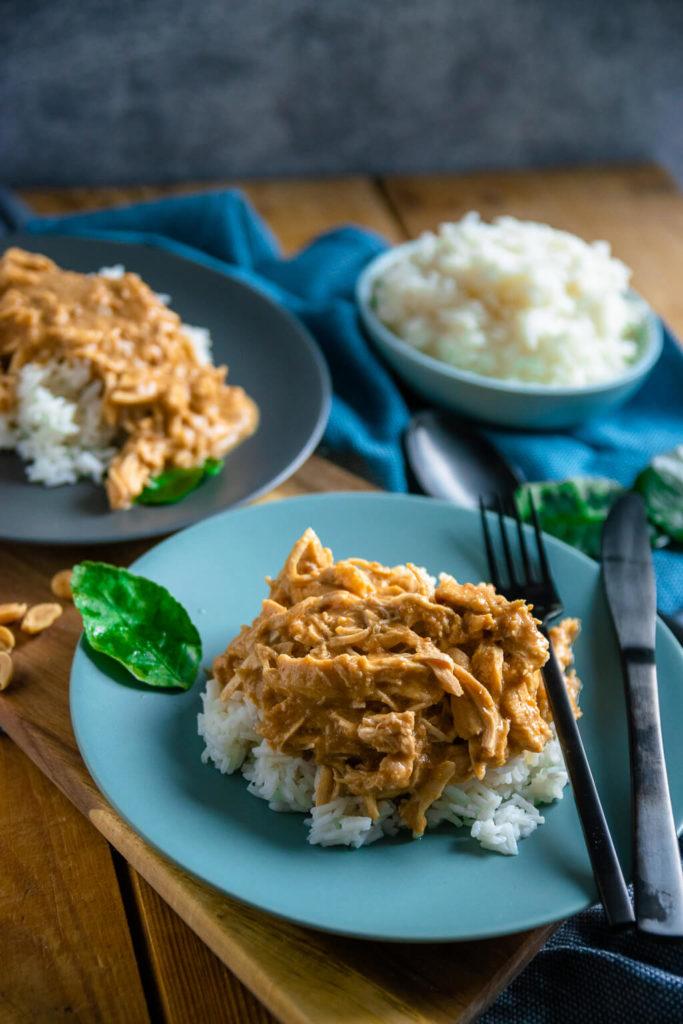 So kann wirklich jeder kochen - das Erdnuss Huhn ist das einfachste Gericht mit ganz viel Geschmack!