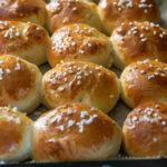 Weiche Quarkbrötchen wie vom Bäcker