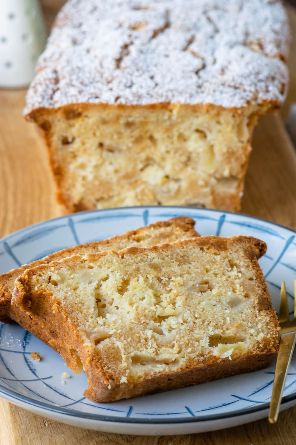 Apfel Marzipan Kuchen Rezept
