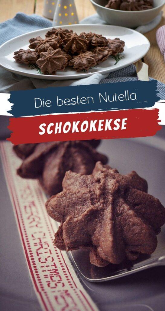 Nougat Tuffs - die besten Nutella Weihnachtskekse, schokoladig, Rezept von Dr. Oetker - absoluter Liebling zu Weihnachten - jetzt auch für den Thermomix. #weihnachten