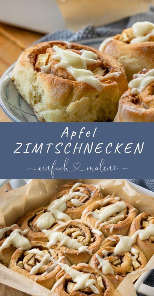 Es gibt heute super geniale Apfel Zimtschnecken mit Frischkäse Frosting. Die passen perfekt in die Herbstsaison und sind durch die Apfelstücke richtig schön saftig. Wer Zimtschnecken mag, wird diese mit Apfel auf jeden Fall lieben. Mit Zubereitung im Thermomix