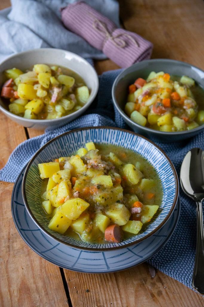 Mamas Kartoffelsuppe - ein Familienrezept