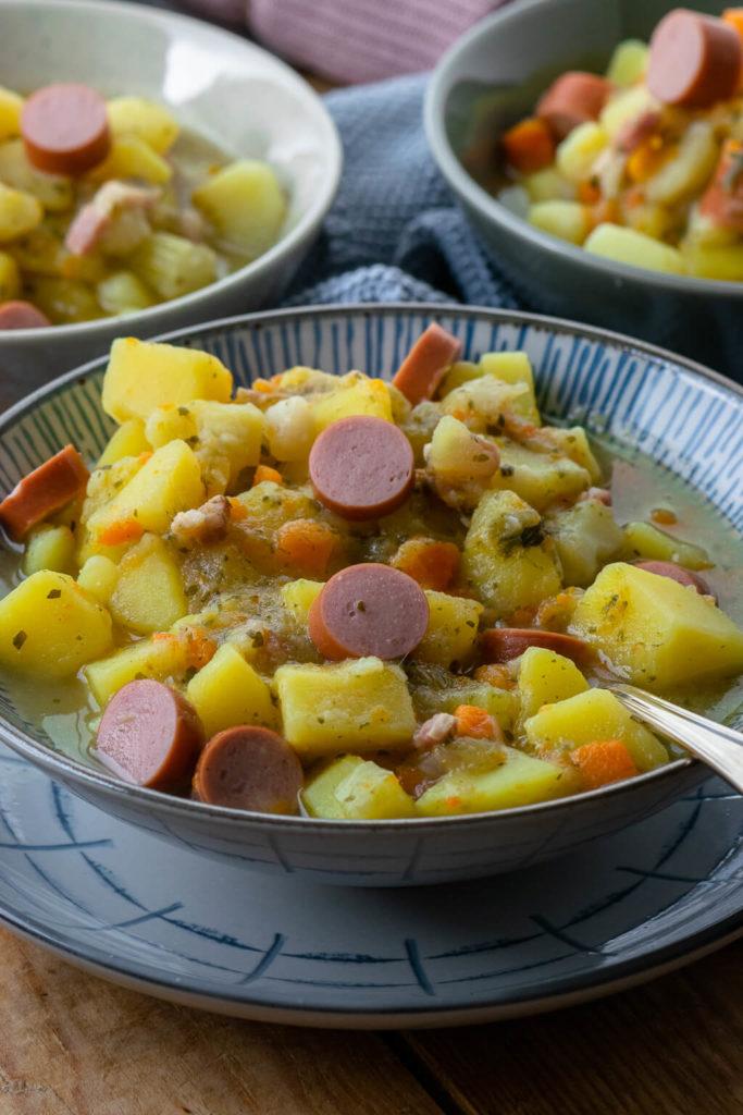 Kartoffelsuppe ist perfekt für deine Feierabendküche