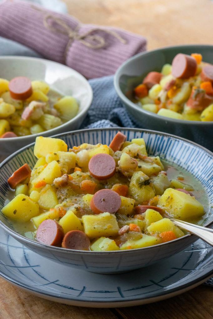 Kartoffelsuppe wie bei Mutti