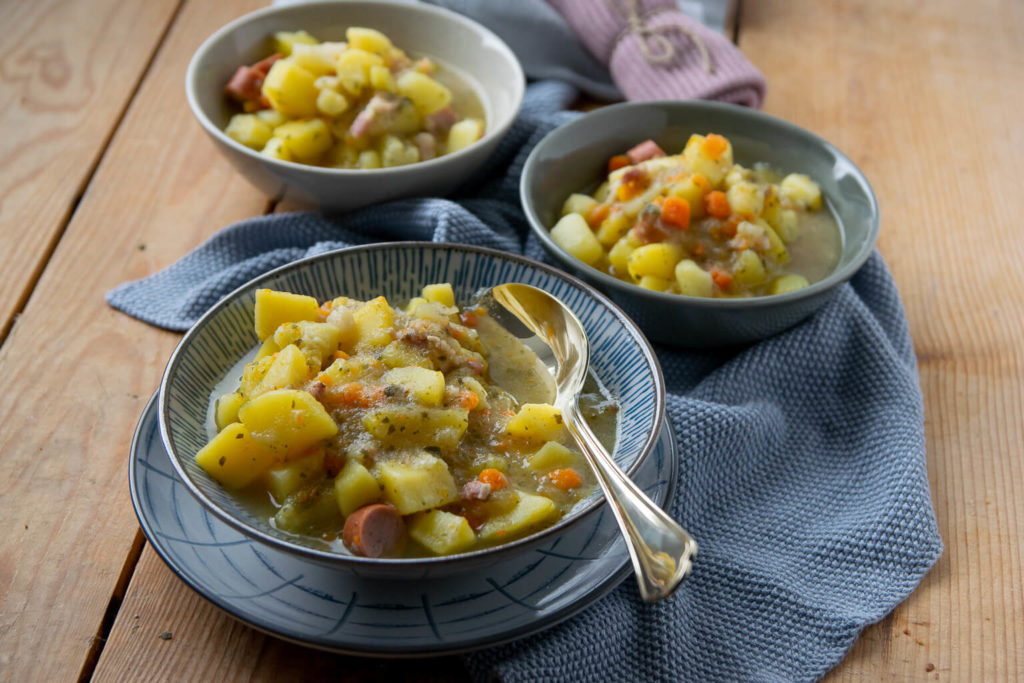 Kartoffelsuppe gut und günstig