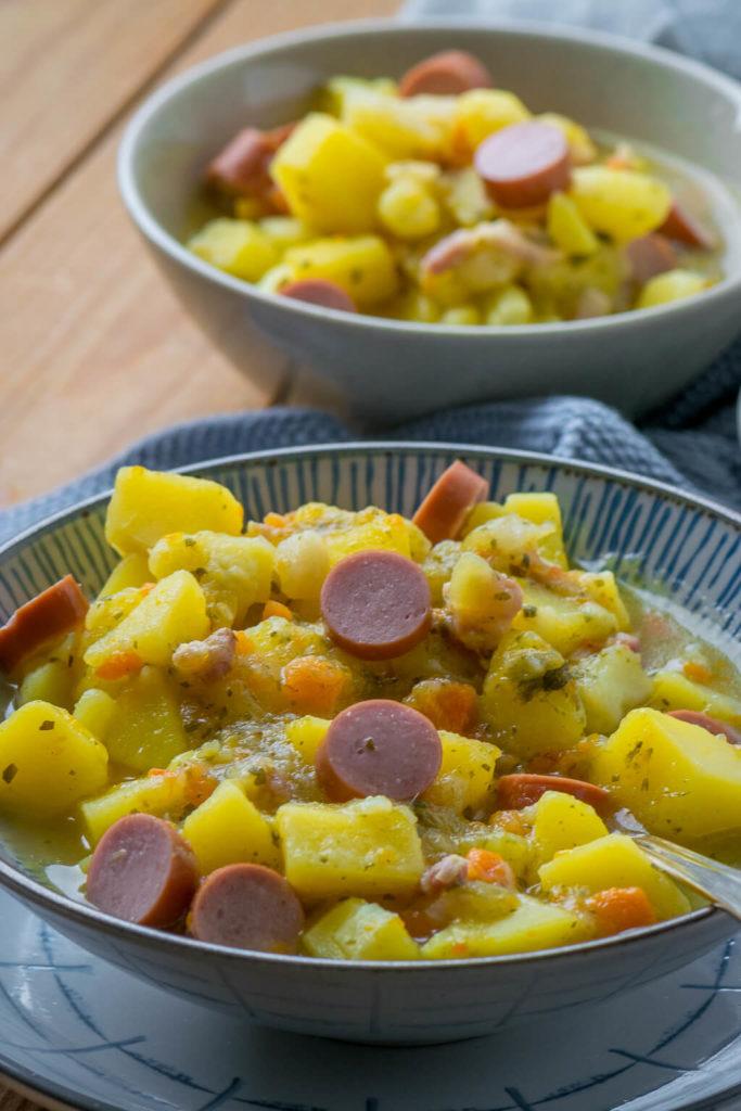 Kartoffelsuppe schnell und lecker