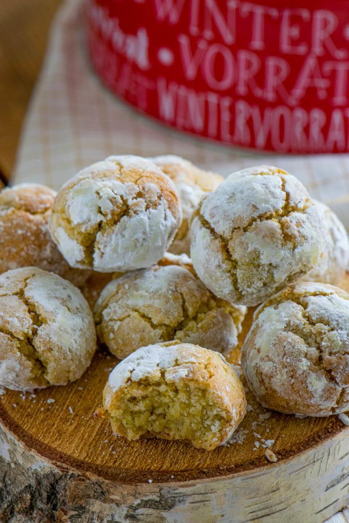 Kekse mit Amaretto - die Amaretti schmecken einfach so gut