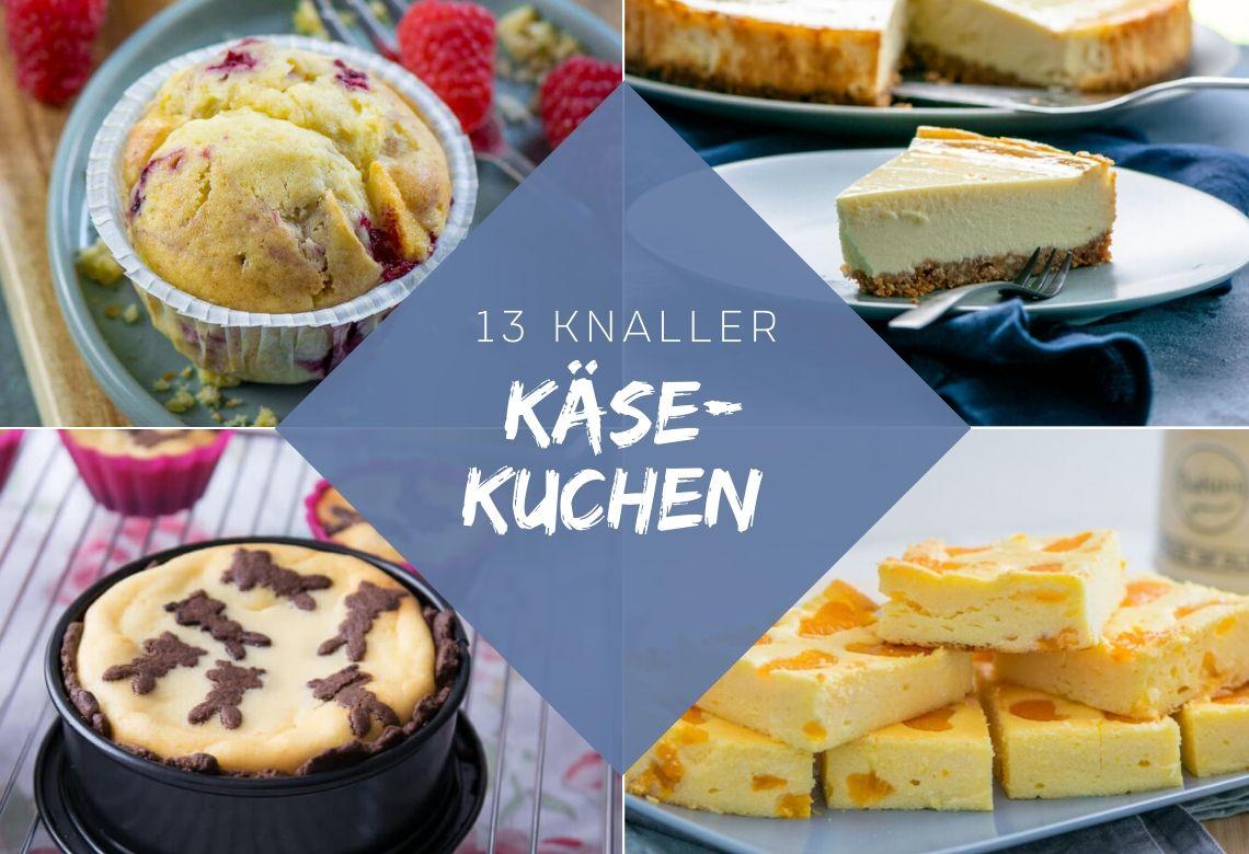 13 super leckere Käsekuchen Rezepte