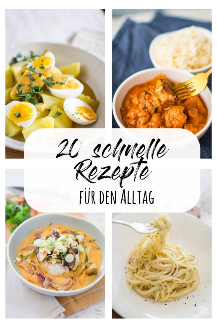 Rezept: 20 schnelle Hauptgerichte