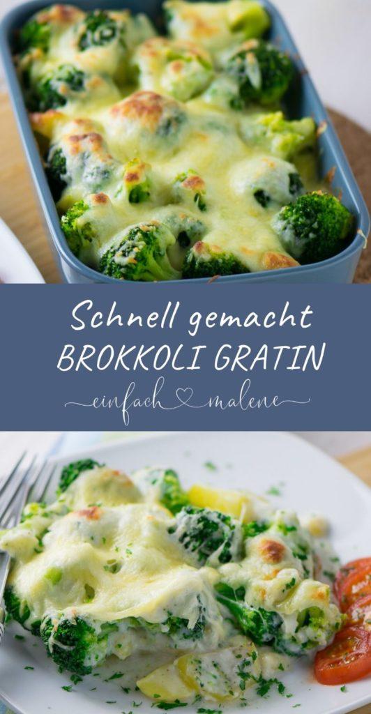 So einfach und so gut - ich liebe einfache Rezepte und aus diesem Grund gehört das Brokkoli Kartoffel Gratin mit Bechamelsauce zu meinen liebsten Rezepten.