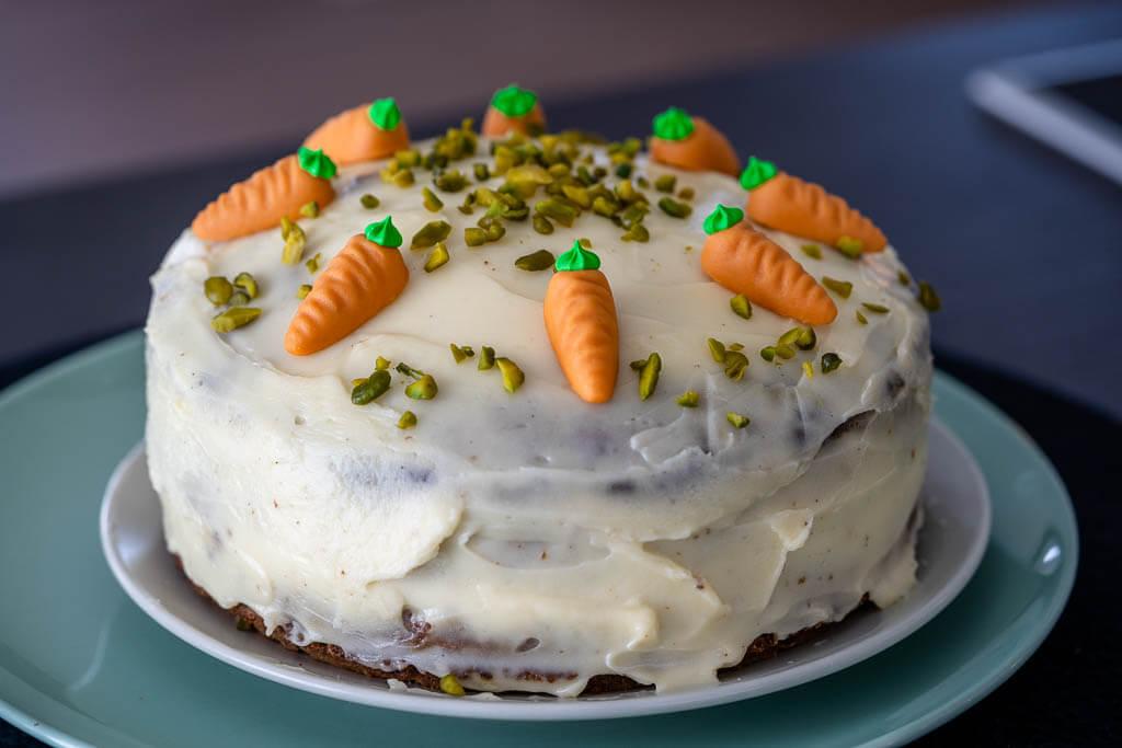 Carrot Cake zum Osterfest