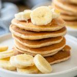 Bananen Pancakes Haferflocken