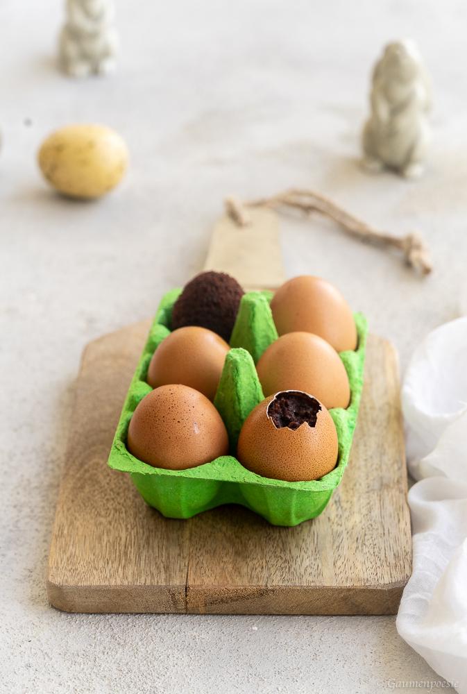 Brownie-Ostereier