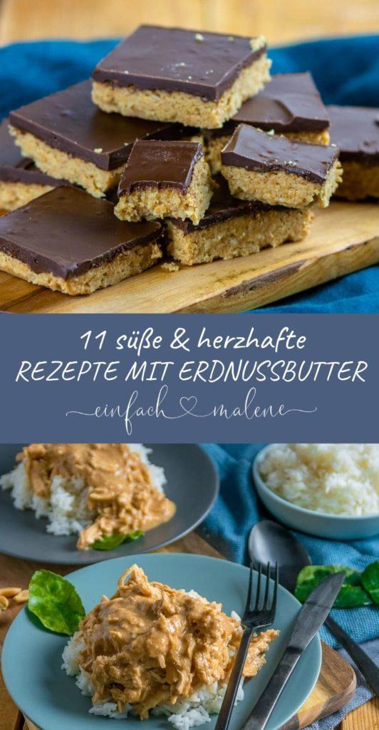 Für alle Erdnussbutter Fans gibt es diese tolle Sammlung mit 11 genialen Rezepten für süße und herzhafte Gerichte. Viel Spaß beim Kochen und Backen.