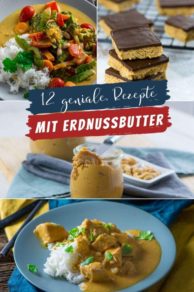 Für alle Erdnussbutter Fans gibt es diese tolle Sammlung mit 12 genialen Rezepten für süße und herzhafte Gerichte. Viel Spaß beim Kochen und Backen.