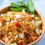 Köstlicher Bulgursalat türkischer Art