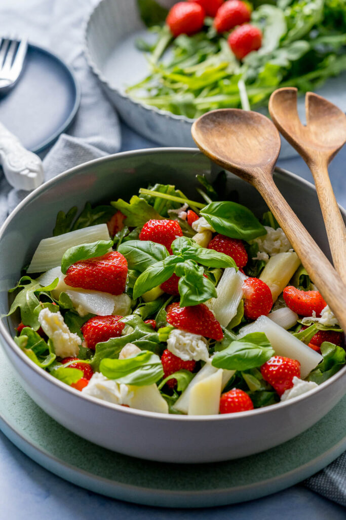 einfacher Spargelsalat in nur 15 Minuten auf dem Tisch