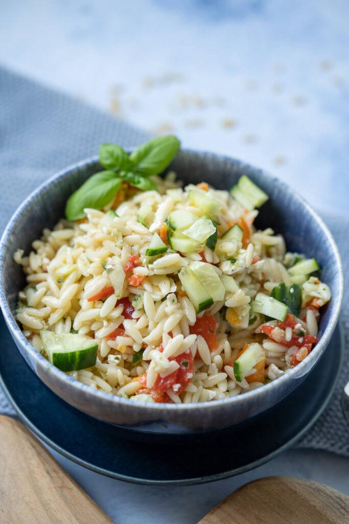 Kritharaki Salat - lecker und sommerlich