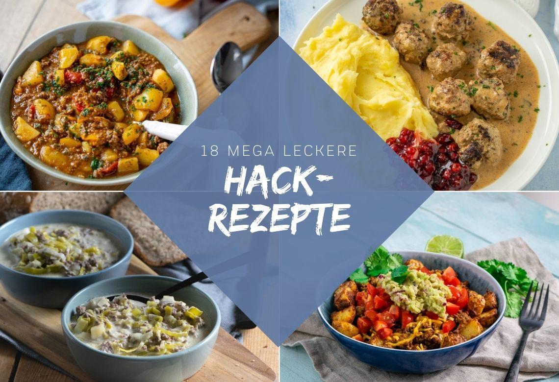 Meine 18 liebsten Hack-Rezepte