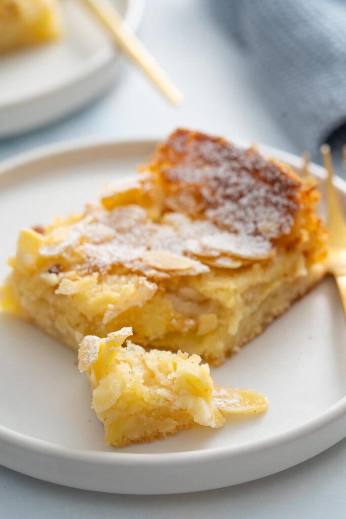 Apfelblechkuchen - Saftiger Apfelkuchen - einfach und lecker