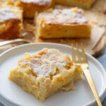 Apfelkuchen saftig und einfach - perfekt vom Blech