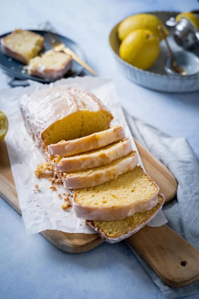 Rezept für Zitronenkuchen - einfach, lecker und saftig