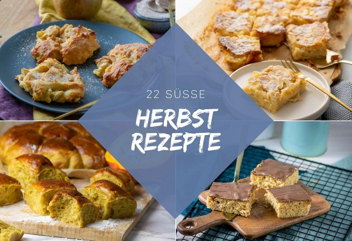 Herbst Rezepte süß und lecker