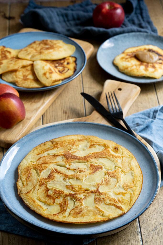 Leckere Apfelpfannkuchen - so einfach machst du sie bei deiner Oma