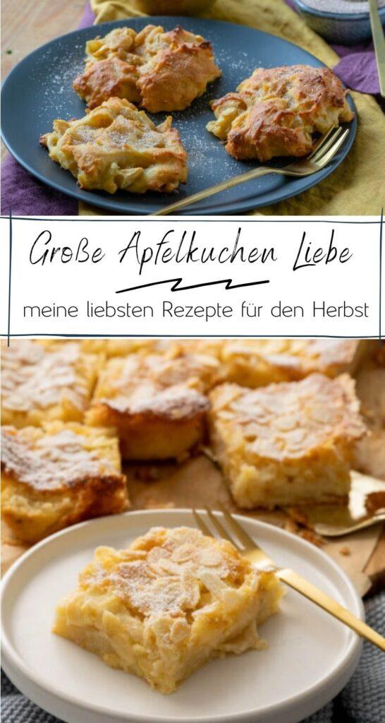 Die beliebtesten Apfelkuchen Rezepte auf einen Blick. Saftige Apfelkuchen mit Zimt und/oder Vanille sind die perfekten Kuchen für schöne Herbst-Wochenenden. #apfelzeit #herbst #kuchenrezepte