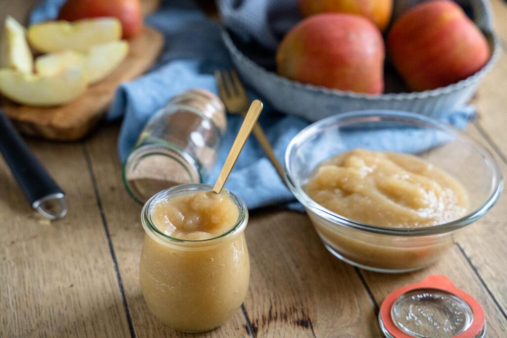Apfelmus einfach selber machen - mit Zimt und/oder Vanille