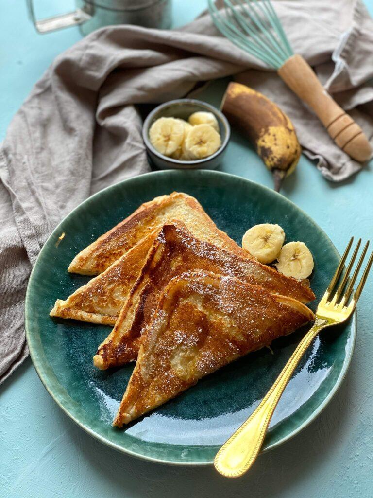 French Toast mit Ahornsirup