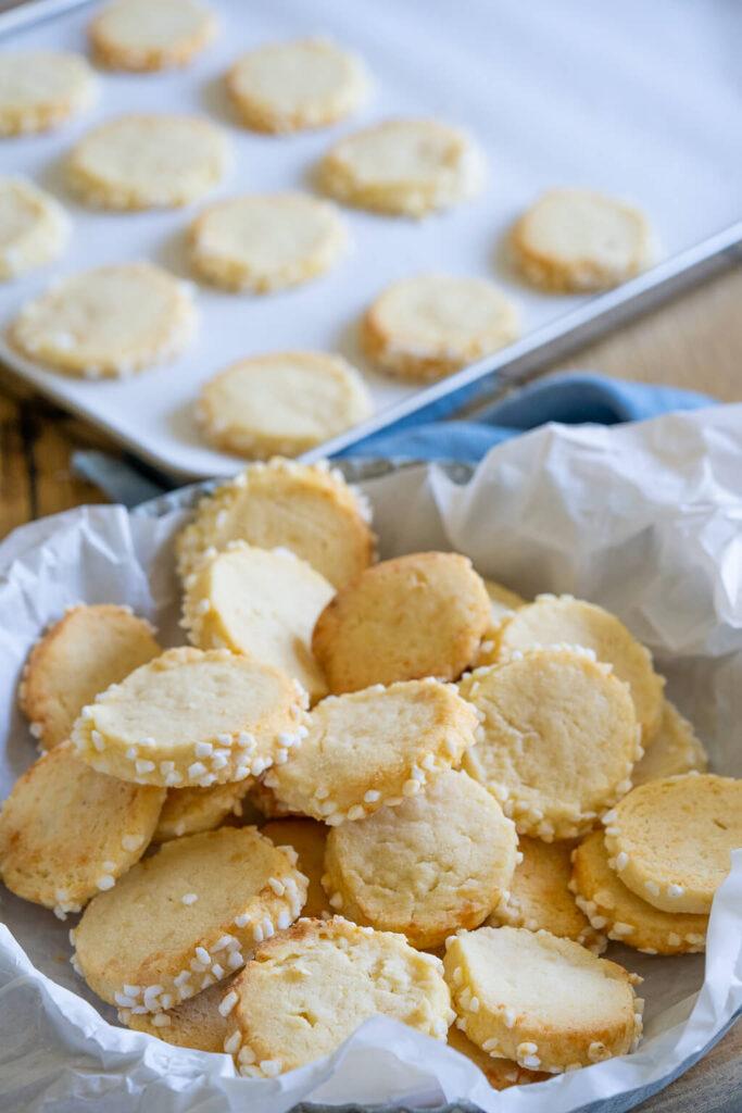 Marzipan Heidesand – Kekse, die auf der Zunge zergehen
