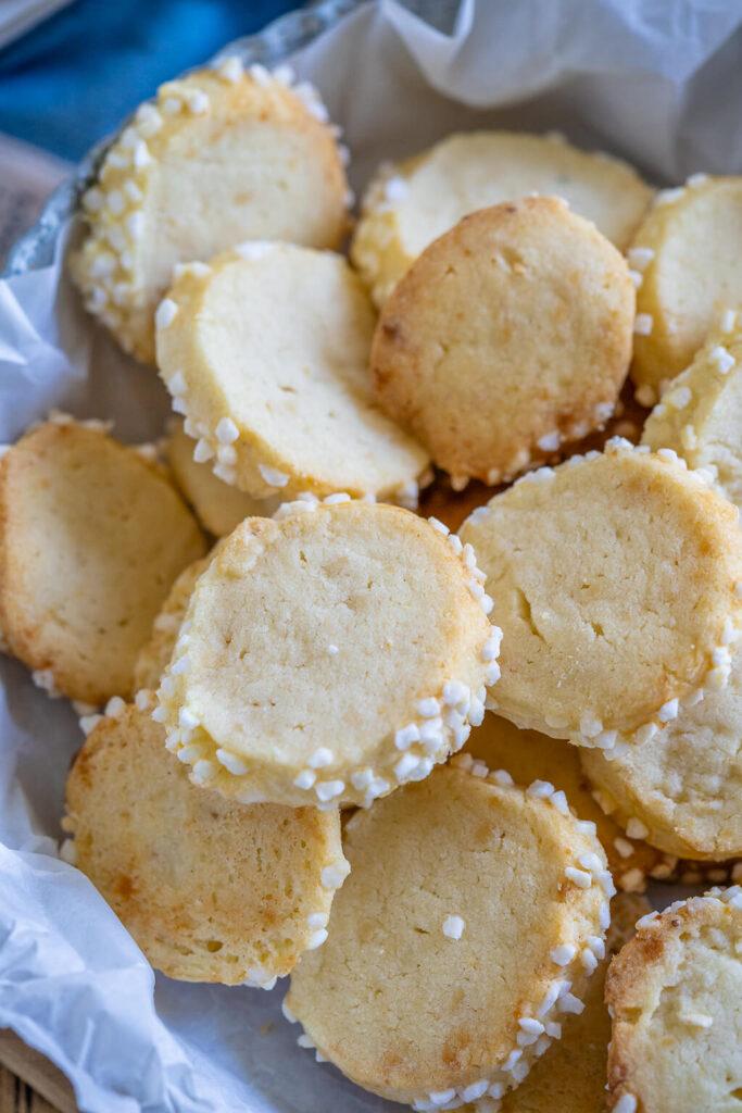 Heidesand Kekse - super lecker mit Marzipan