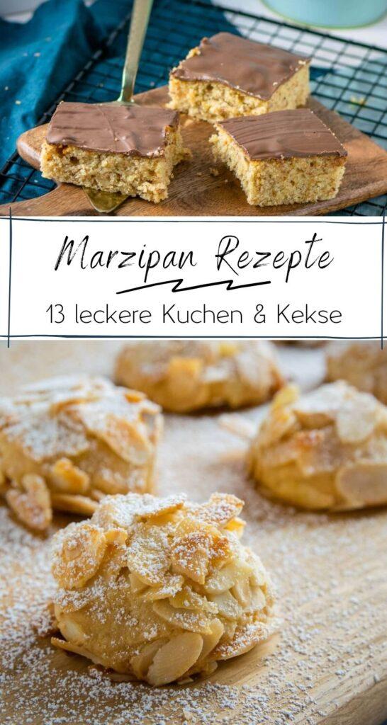 13 geniale Rezepte mit Marzipan - einfach, lecker & perfekt für Marzipanfans - Die perfekte Rezeptsammlung für alle Marzipanfans. Die Rezepte schmecken das ganze Jahr, aber in der Herbst und Winterzeit sind sie ganz besonders beliebt. #kekse #kuchen #weihnachten #marzipan #herbst