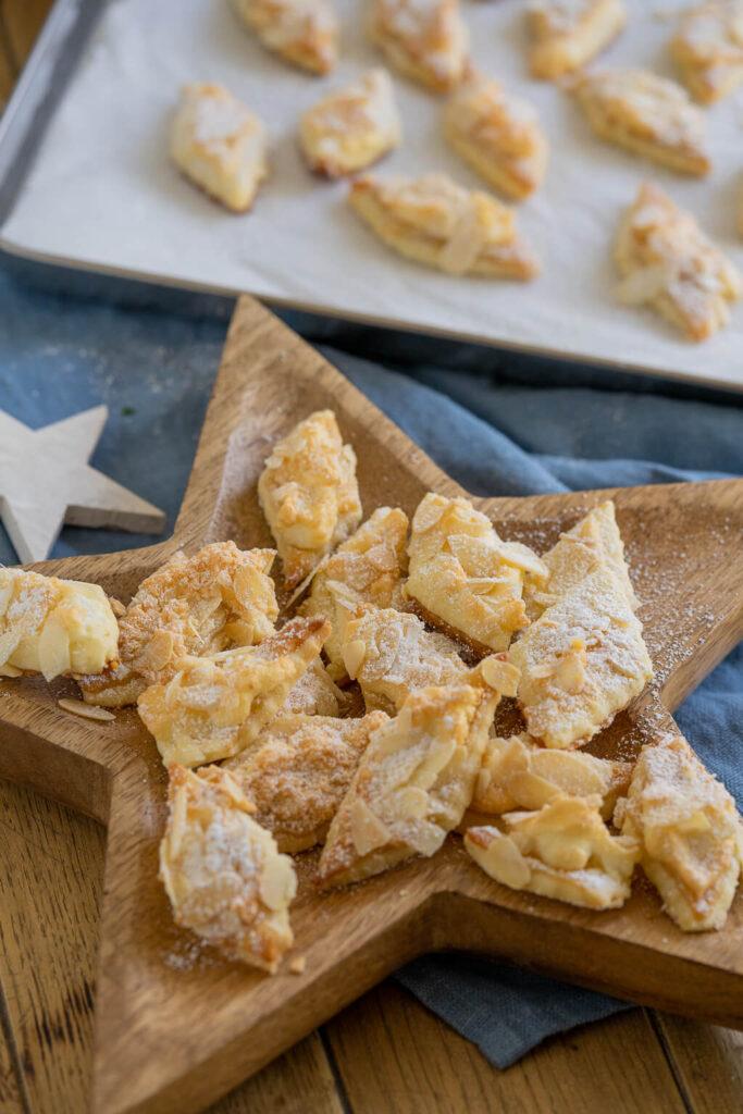 Marzipan-Plätzchen - zarte, knusprig und super lecker