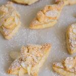 Knusprige Mandel Marzipan Kekse