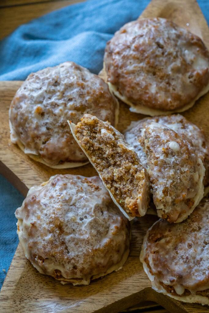 Einfache köstliche Marzipan Lebkuchen