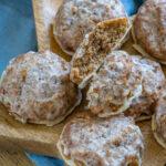 Einfaches Lebkuchenrezept mit Marzipan