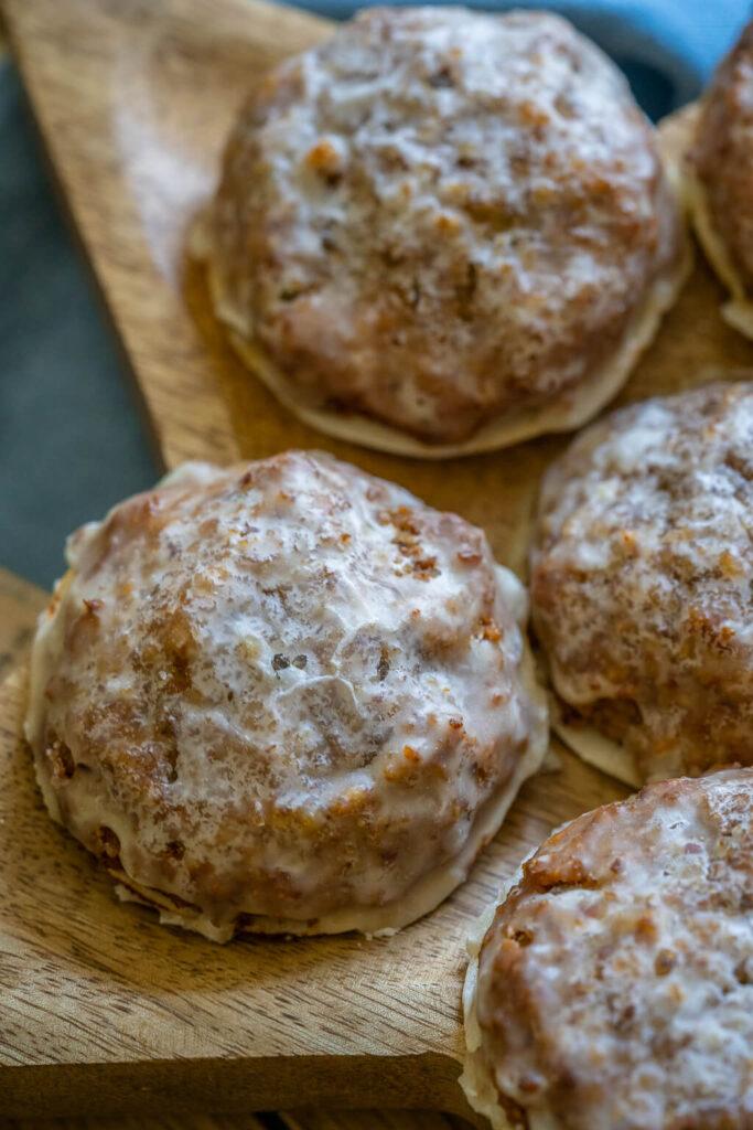 Lebkuchen Rezept einfach - Marzipan Lebkuchen mit Zuckerguss