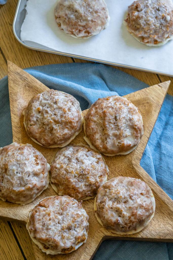 Oblaten Lebkuchen Rezept - Marzipan Lebkuchen