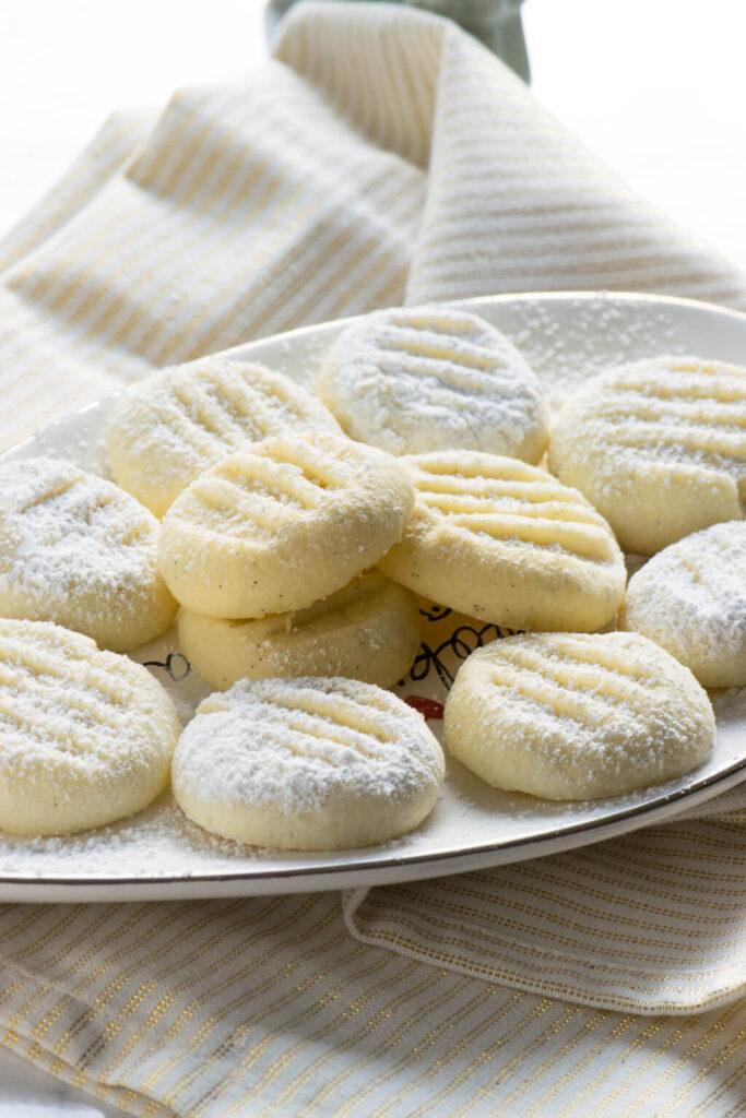 Leckere Kekse, zart und schmecken herrlich nach Vanille