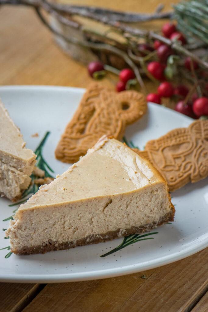 Cremiger Spekulatius Cheesecake, Rezeptabwandlung vom New York Cheesecake
