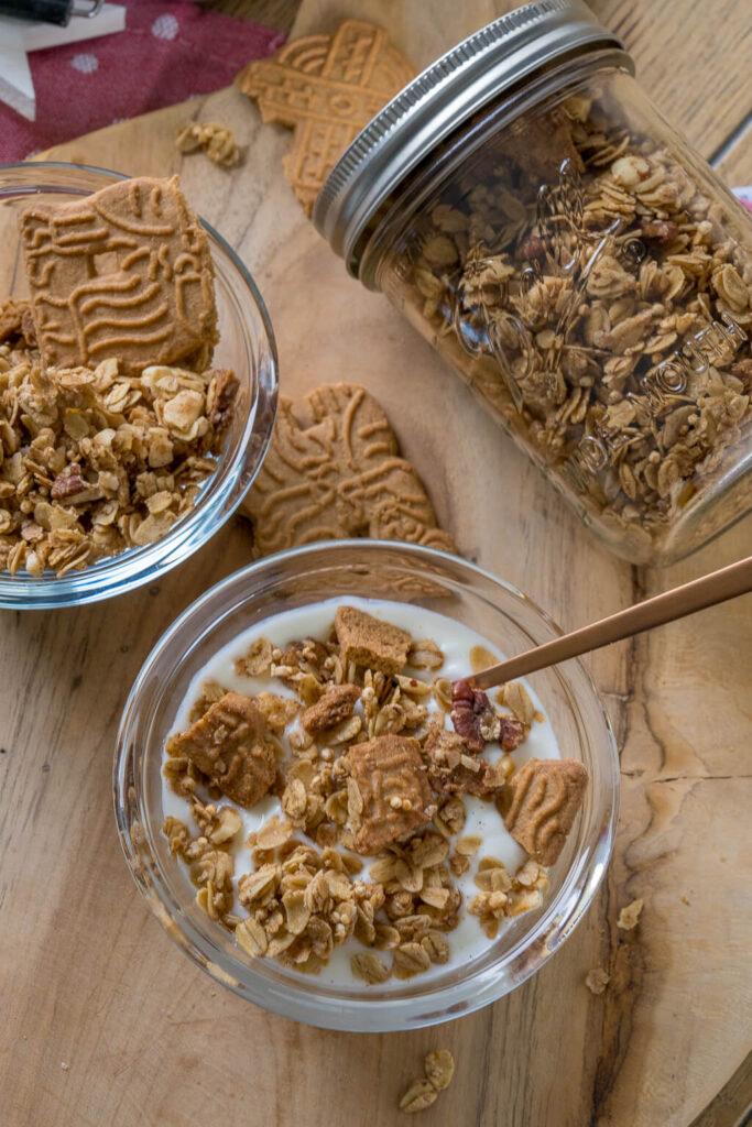 Müsli mit Nüssen, Mandeln und Zimt - einfach selber machen